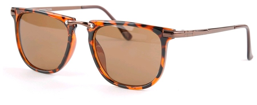 Eclipse Sunglasses Copper Tortoise frame with Brown lens