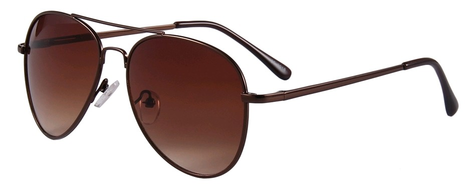 Eclipse Sunglasses Coffee Copper frame with Gradient brown lens